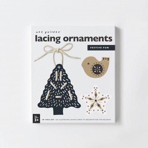 Festive Fun Lacing Ornaments