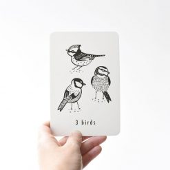 Wee Gallery Cards with Nature and Numbers