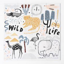 Wild Life Floor Puzzle