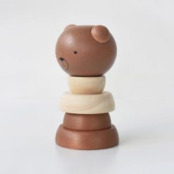 Wood Stacker Bear by Wee Gallery