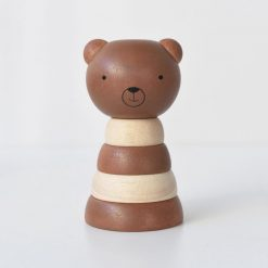 Wee Gallery Wood Stacker Bear