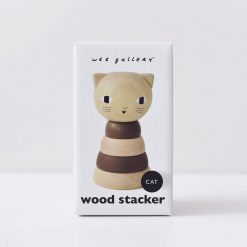 Cat Stacking Toy by Wee Gallery