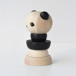 Wood Stacker Panda by Wee Gallery