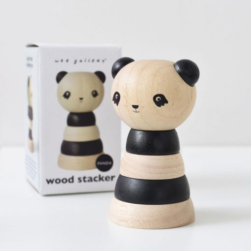 Panda Stacking Toy by Wee Gallery