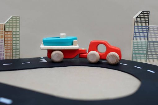Bajo Wooden Car and Boat Trailer