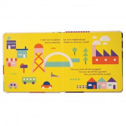 Manhattan Toys Shape Board Book for Babies and Toddlers