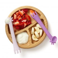 Fork and Spoon for Baby to Eat With