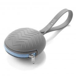 Ali+Oli Silicone Pacifier Case Grey