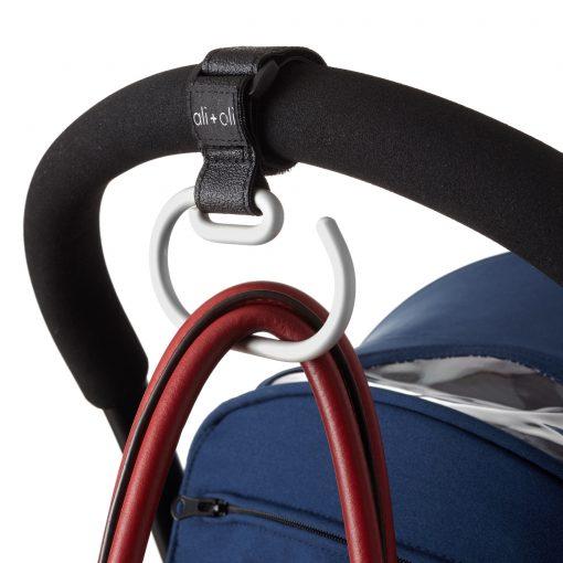 Ali+Oli Adjustable Stroller Hook for Uppababy