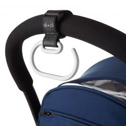 Ali+Oli Adjustable Stroller Hook for Purses, Diaper Bags, and Shopping Bags