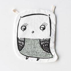 Wee Gallery Organic Crinkle Owl Toy