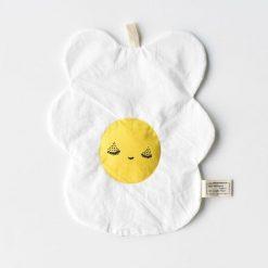 Wee Gallery Organic Crinkle Egg Toy