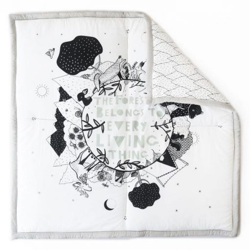 Black and White Mat for Babies