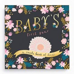 Lucy Darling Golden Blossom Baby Book