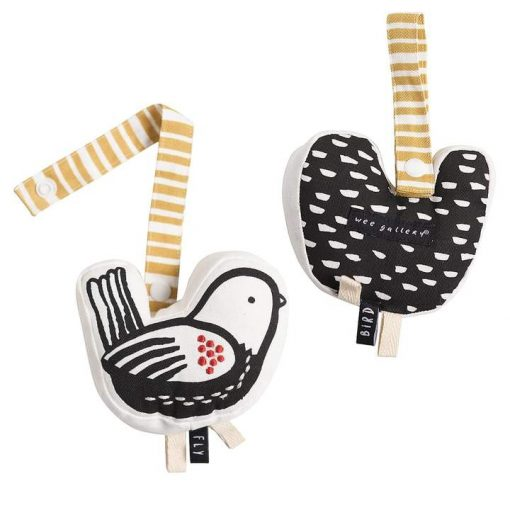 Black and White Baby Stroller Toys