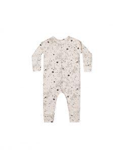 Rylee + Cru Starburst Long John Romper PJs for Babies and Toddlers