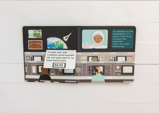 Lucy Darling Blast Off Space Board Book