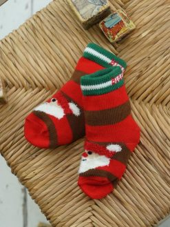 Blade and Rose Holiday Christmas Santa Socks