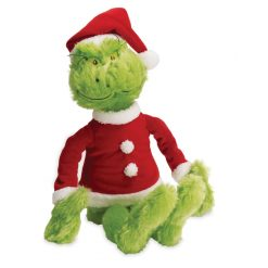 Dr. Seuss The Grinch In Santa Suit by Manhattan Toy Company