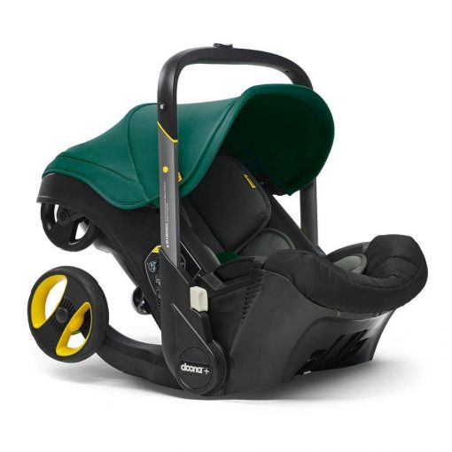 Racing Green Car Seat and Stroller Doona