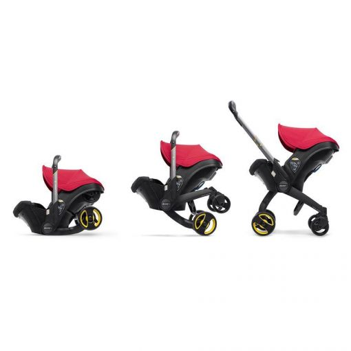 Flame Red Car Seat and Stroller Doona