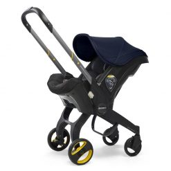 Comfortable Royal Blue Car Seat & Stroller by Doona