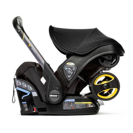 Comfortable Nitro Black Car Seat & Stroller by Doona