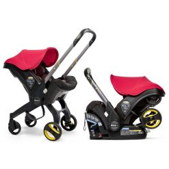 Doona Car seat and Stroller Flame Red