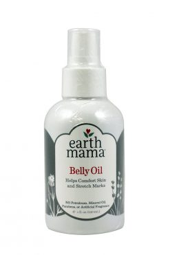Earth Mama Belly Oil for Moisturizing and Stretch Mark Management During Pregnancy
