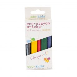 Eco-Crayons Sticks All Natural Beeswax by eco-kids (10 Pack)