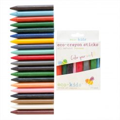 20 pack three-sided crayons from eco-kids