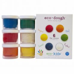 Eco-Dough Natural Play Dough by eco-kids 6 pack