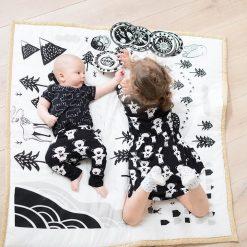 Black and White Baby Mat