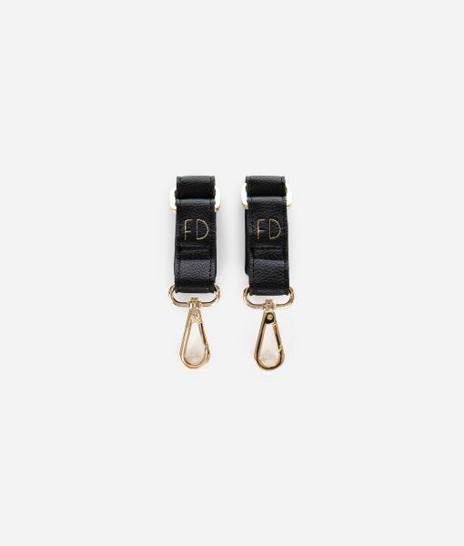 Fawn Design Stroller Hooks in Black