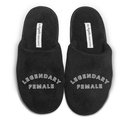 Legendary Female Women's Slippers from LA Trading