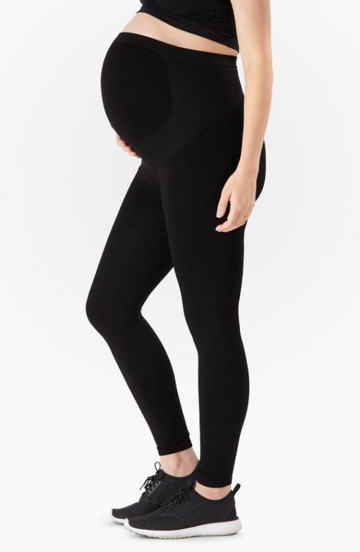 Belly Bandit Bump Support Leggings with Unique Belly Support Panel