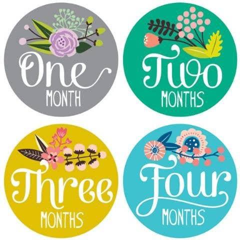 Lucy Darling Little Artist 12 Month Milestone Stickers