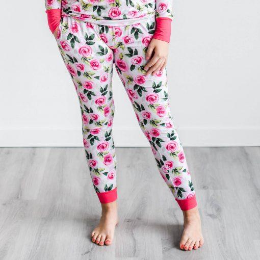 Little Sleepies Roses Pajama Pant for Women