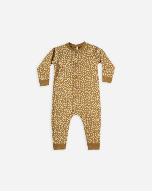 Golden Berry Longjohn Ultra Soft Fleece by Rylee + Cru