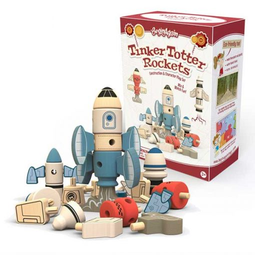 Tinker Totter Rockets - Construction & Character Set Packaging