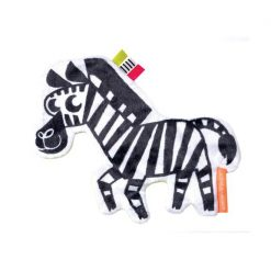 Wimmer Ferguson Crinkle Zebra by Manhattan Toy Company