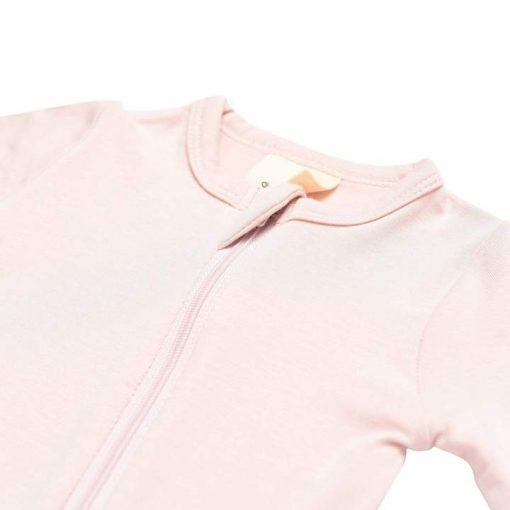 Light Pink Kyte Baby Footie Pajamas