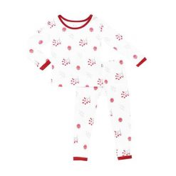 Kyte BABY Toddler Pajama Set in Holly Berry