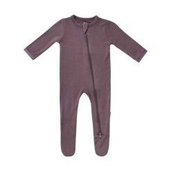 Kyte BABY Zippered Footie in Cocoa