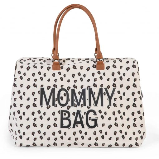 Mommy Bag in Leopard Print