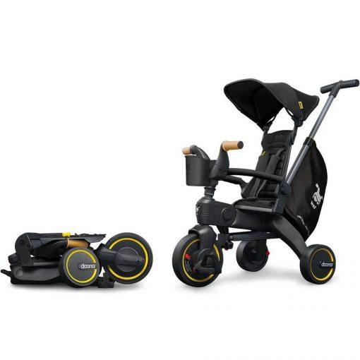 Liki Trike S5 Nitro Black Doona