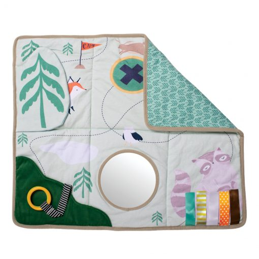 Camp Acorn Play Map Tactile Play Mat by Manhattan Toy Company
