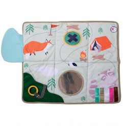 Play mat for babies and kids that help with self-discovery