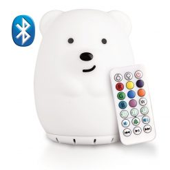 LumiPets Bear Nightlight with Bluetooth and Remote