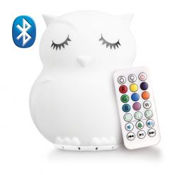 LumiPets Owl Nightlight with Bluetooth and Remote
